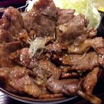30180973 - 豚丼 (松セット) ¥1280