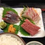 ウオツネ - 刺身定食