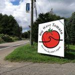 Big Wave Tomato - 入り口の看板