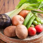 北新地たゆたゆDX - 旬のお野菜を使用したヘルシーメニュもございます。
