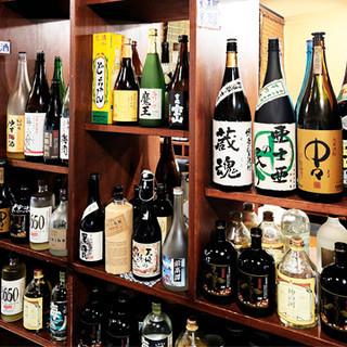 ◇日本酒・焼酎が豊富◇