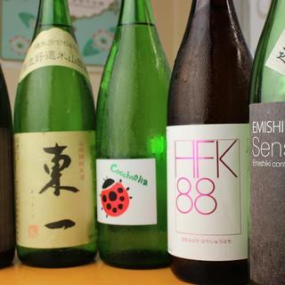 こだわりの日本酒達
