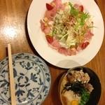揚げ足鳥・伊予万里 - 前菜