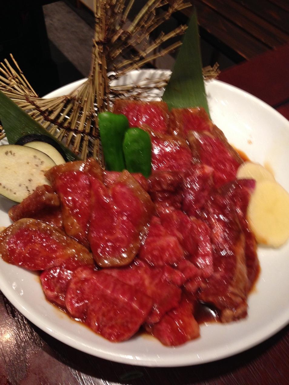 炭火焼肉 新日本