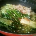 九州まる - ホルモン鍋