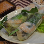 シダット - 料理写真:生春巻き