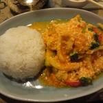 本格タイ料理 タイの食卓クルン・サイアム 自由が丘店 - タレーハッポンカレー1240円
