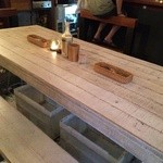 チュカテ - テーブル席