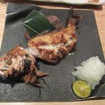 ろばた 翔 - 石川県産のどぐろ 塩焼き