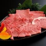 大阪焼肉 鶴橋 牛一 - 上和牛セット