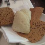 アクアヴィット - ライ麦パン、キャラウェイシードのパン、じゃが芋のパン