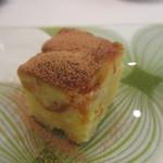 アクアヴィット - リンゴのチーズケーキ