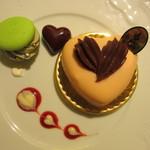 Q-pot CAFE. - バレンタイン限定プレート ストロベリー