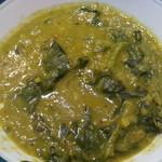 294 - 豆と青菜のカレー