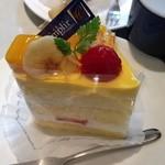 ランプリール・オクシジェーヌ - パッションマンゴーのショートケーキ