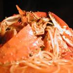 アウラ クチーナ - わたり蟹のスパゲティ