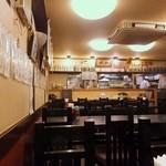和楽 - 高級居酒屋だが席間は狭い