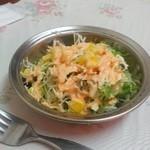 インド料理ウッタムカレー - サラダ