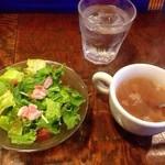 30208874 - サラダ&スープ