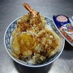 鶴生館 - 天丼