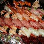 鶴生館 - にぎり寿司 特上 盛り込み
