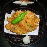 鶴生館 - 天ぷら かき揚げ