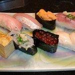 鶴生館 - おまかせにぎり寿司