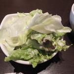 欧風酒場ナベ - レタスサラダ