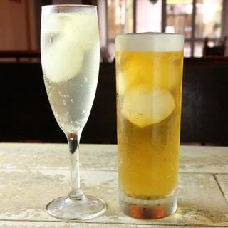 自家製グラニテ生ビール自家製グラニテスプマンテ