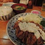 豊 - チキン南蛮定食