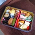 リニア・鉄道館 デリカステーション - 東海道新幹線50周年記念弁当 ¥1,000