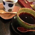 なかお - 料理写真:素敵な器で美味しい珈琲
