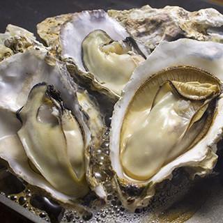 宮城県石巻産の『蒸し牡蠣』
