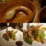 施家菜 - ミル貝のXO醤炒め
