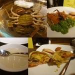 施家菜 - 黄油蟹の紹興酒漬け姿蒸し