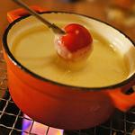燻製工房 - 四種のチーズと西京味噌のチーズフォンデュ 1,480円 これは毎日でも食べたい♪