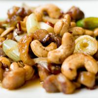 きりん - 海老のカシューナッツの四川風炒め