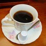 割烹 大岩 - 大岩焼き定食についているコーヒー