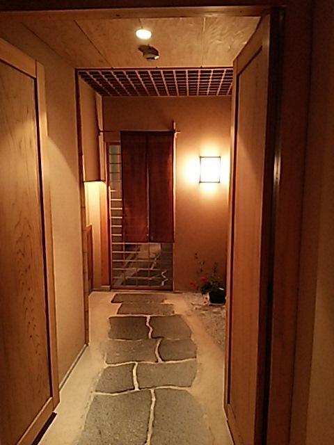 あやこや - 地下1階の入り口です