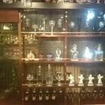カフェ&ワインバー ロワ - オーナーのセンスが光るグラスの数々(*´∪`)