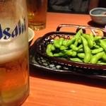 30223069 - ビアと枝豆…北海道!ならサッポロでしょ?