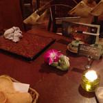 30225491 - テーブルの飾りとか♪