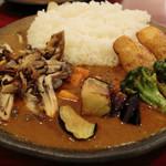 ダッチオーブン - 野菜のルーカリー(¥1,000) 2014.03