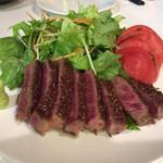 広島お好み焼き・鉄板焼き しょうちゃん - 限定の和牛ステーキ