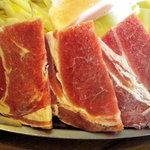 かつみ食堂 - ラム肉は冷凍でしたがまあまあでした
