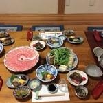かたやま - 黒豚シャブ鍋コース