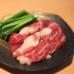 三十四代目 圓蔵 - 馬焼き「バラヒモ」九州では通常「ヒモ」と呼ばれます。