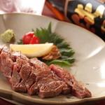TACHI-BANA - 国産黒毛和牛みすじ肉のステーキ!1,500円