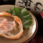 TACHI-BANA - 人気メニュー、かに味噌甲羅!680円