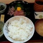 30235991 - ぶり刺身定食 1,000円!